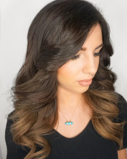The 50 sizzling ombre hair color solutions for blond brown red 35 subtle ombre for brown hair urmus Image collections