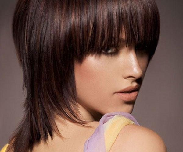 39 shoulder length shag haircut