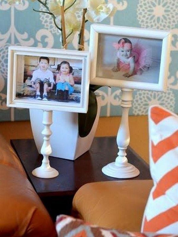 4 Pedestal Photo Frames