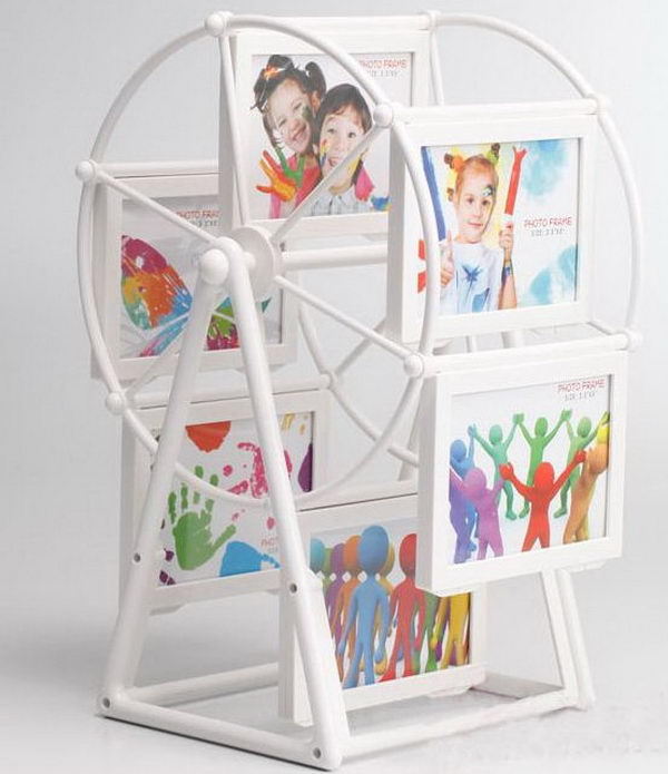 40 Windmill Rotating Photo Frames