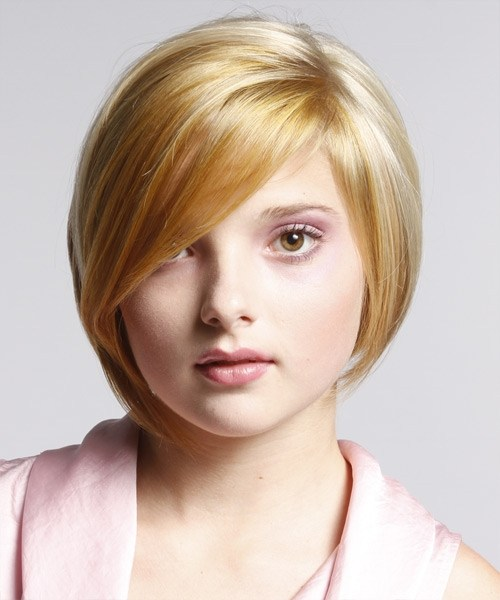 46 Short_Hairstyles_for_Fat_Faces_with_Bangs