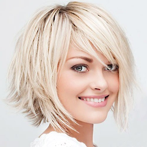 48 Cute choppy bob haircuts