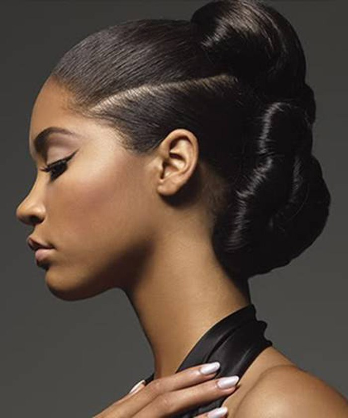 49 Black Updo Hairstyles 2013