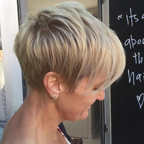 5 blonde layered pixie with ash blonde highlights