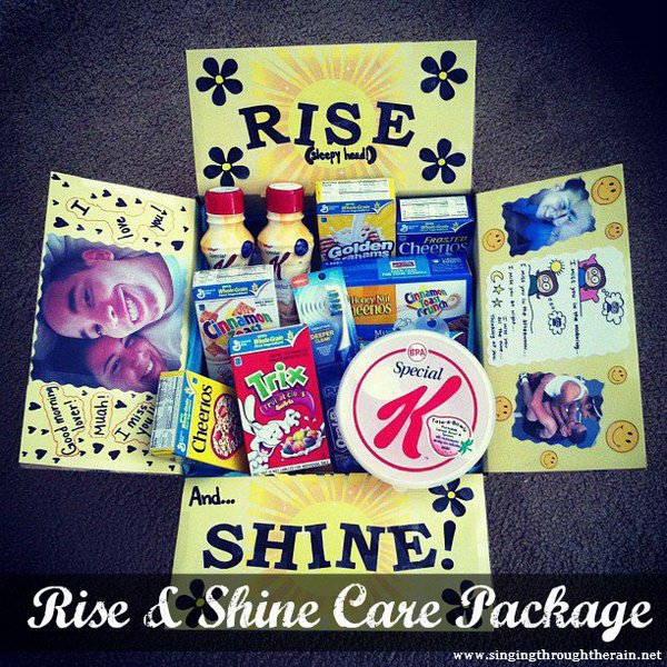 7 Rise and Shine Care Package