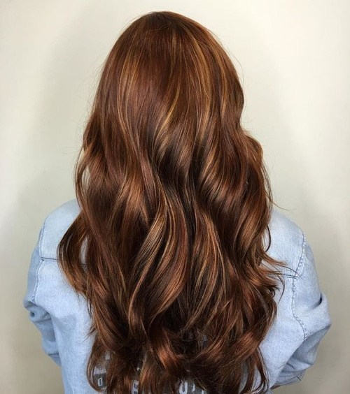 50 looks with caramel highlights on brown and dark brown hair 8 long chocolate brown hair with caramel highlights pmusecretfo Image collections