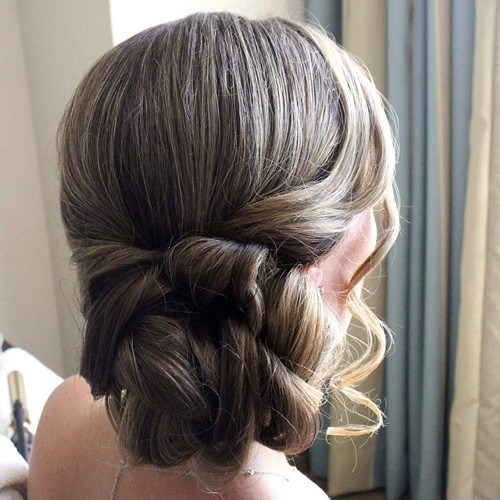 9 prom twisted side updo