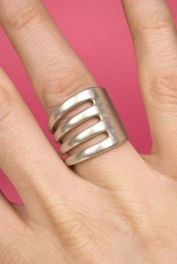 1 Unique Fork Ring