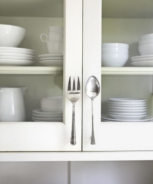 11 Fork & Spoon Door Pulls