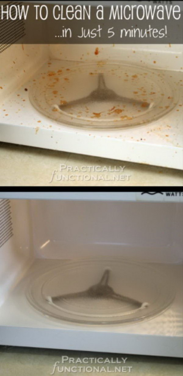 16 How To Clean A Microwave With Vinegar And Steam