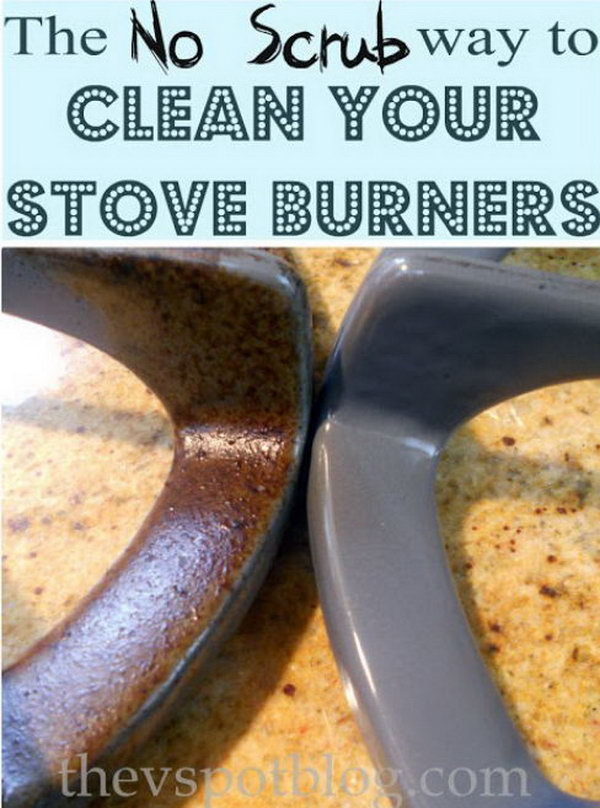 18 Cleaning Stove Burners And Grates Using Ammonia