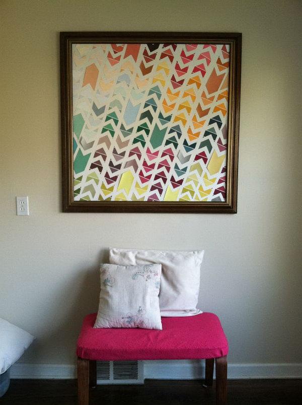 2 Chevron Wall Art