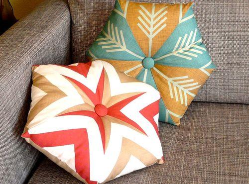 35 Kaleidoscope pillows