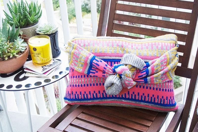 44 No-Sew Sweater Pillow