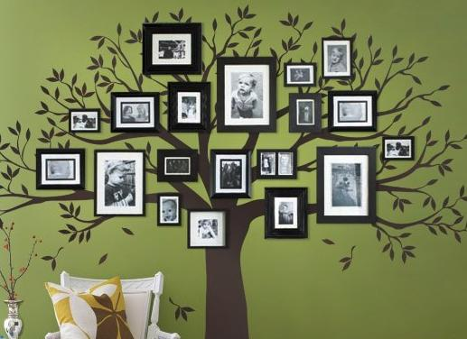 49 Family Tree Picture Wall