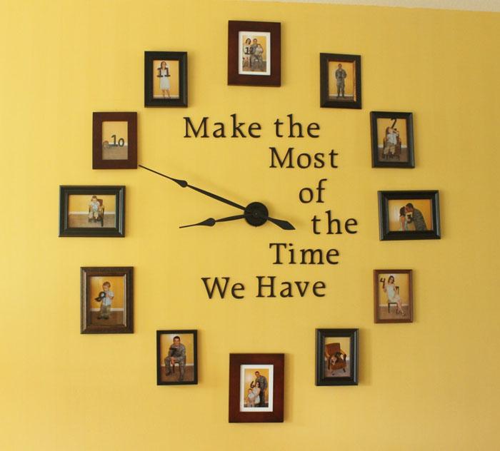 51 Family Photo Wall Clock