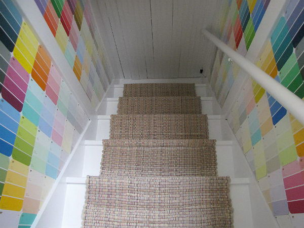 6 Attic Stairs Wall Decor