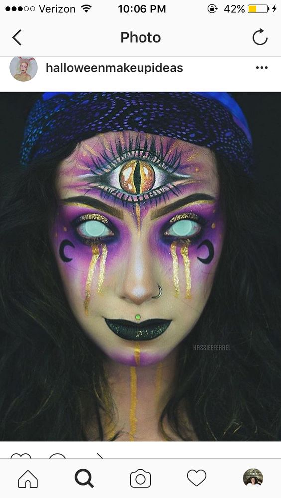 16 Easy Pretty Halloween Makeup Ideas For Women