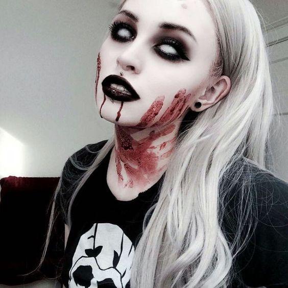 17 Scary Horrifying Halloween Makeup Ideas