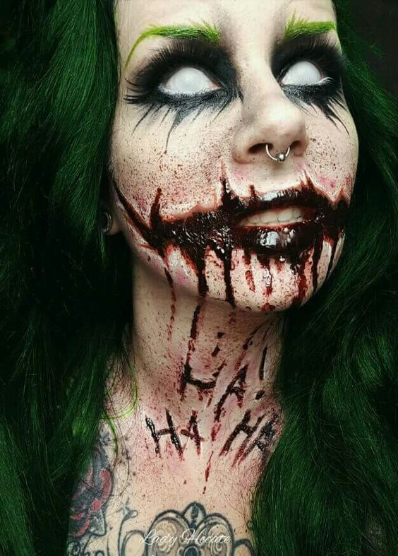 19 Scary Horrifying Halloween Makeup Ideas