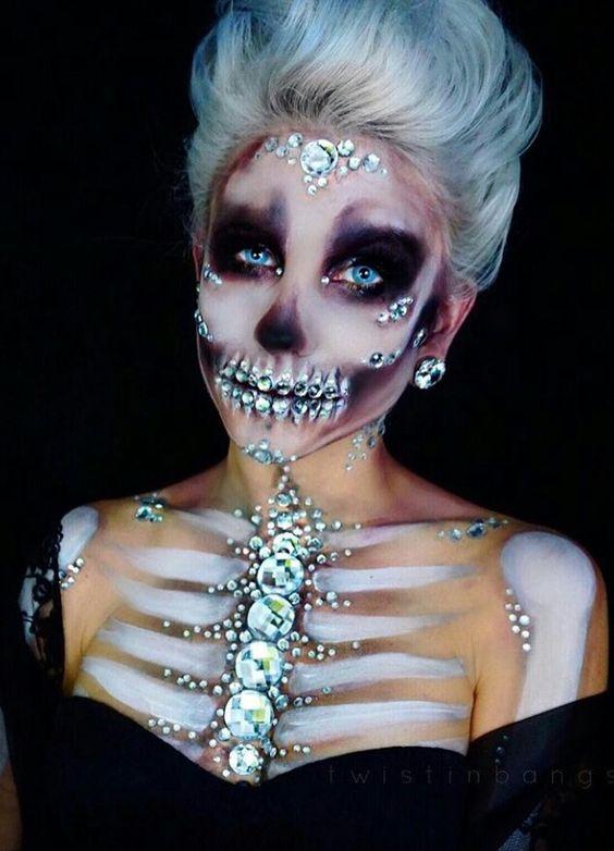 22 Scary Horrifying Halloween Makeup Ideas