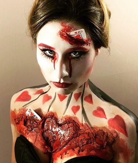 23 Scary Horrifying Halloween Makeup Ideas