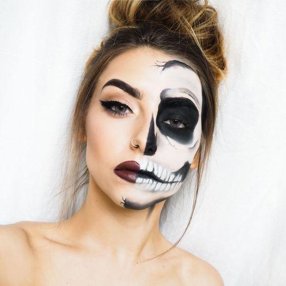 3 Scary Horrifying Halloween Makeup Ideas