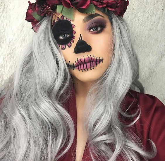 32 Easy Pretty Halloween Makeup Ideas For Women