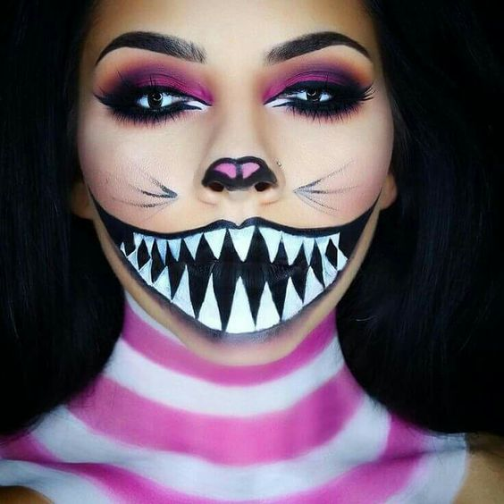 33 Easy Pretty Halloween Makeup Ideas For Women