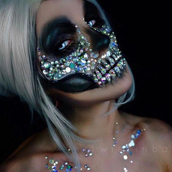 35 Easy Pretty Halloween Makeup Ideas For Women