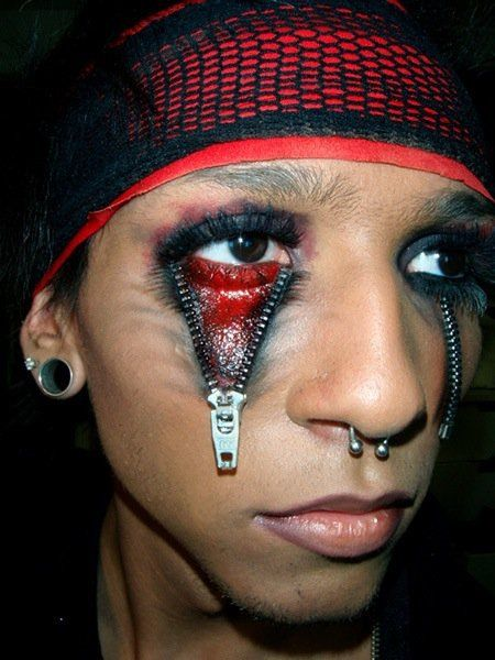 35 Scary Horrifying Halloween Makeup Ideas