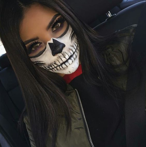 36 Easy Pretty Halloween Makeup Ideas For Women