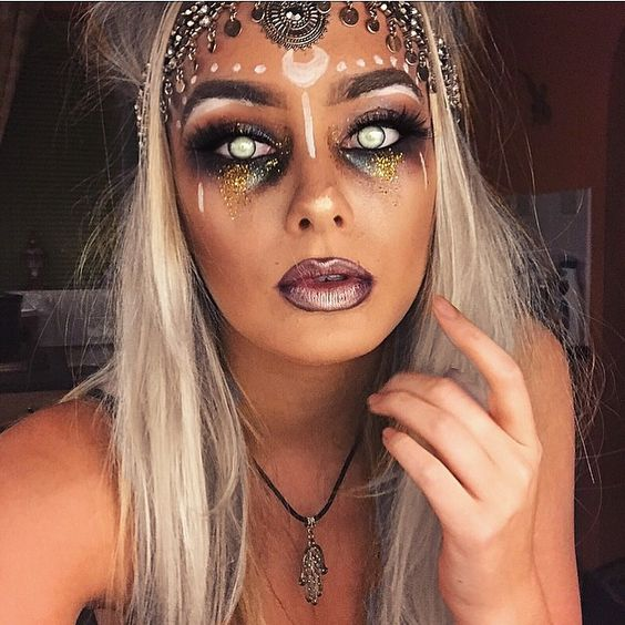 37 Easy Pretty Halloween Makeup Ideas For Women