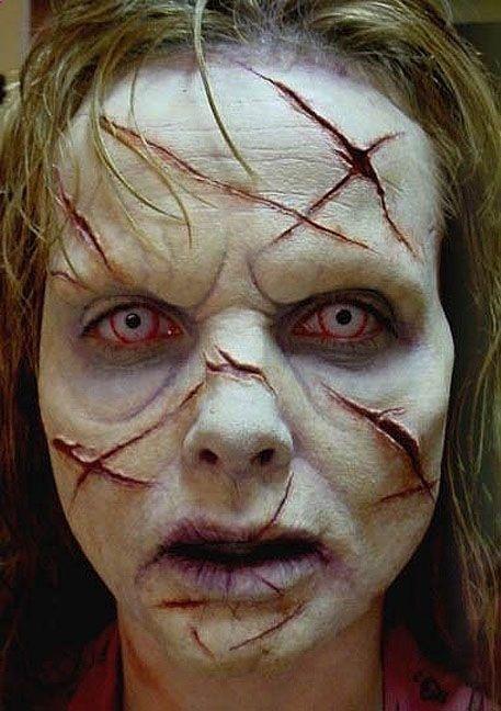 39 Scary Horrifying Halloween Makeup Ideas