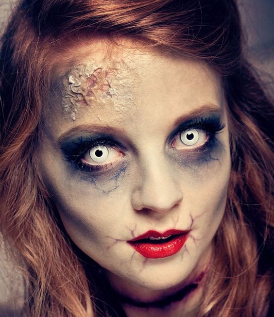 4 Scary Horrifying Halloween Makeup Ideas