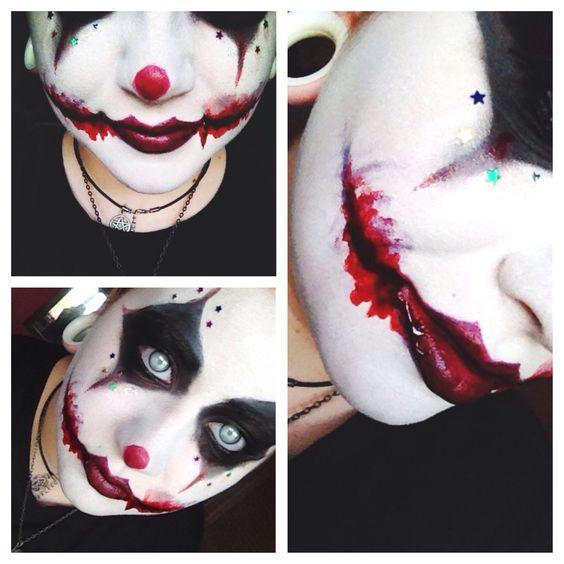 42 Scary Horrifying Halloween Makeup Ideas