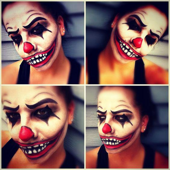 44 Scary Horrifying Halloween Makeup Ideas
