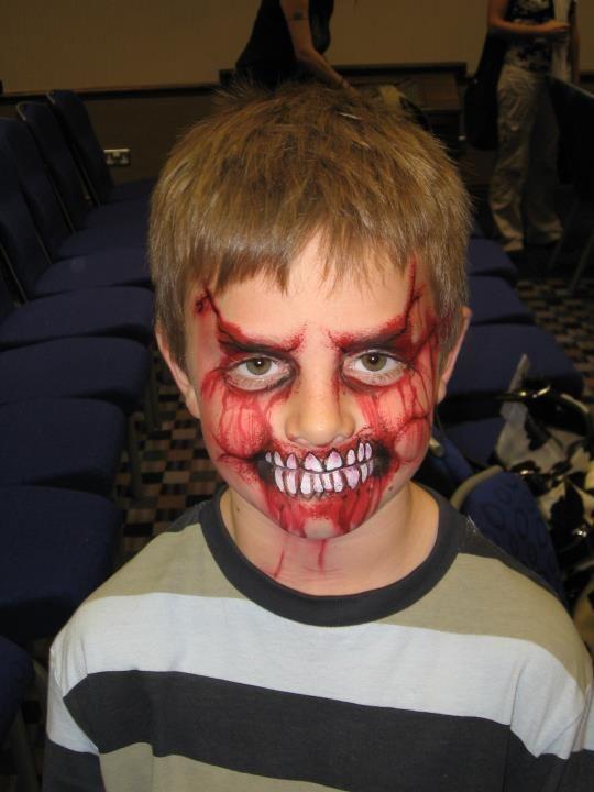 47 Scary Horrifying Halloween Makeup Ideas
