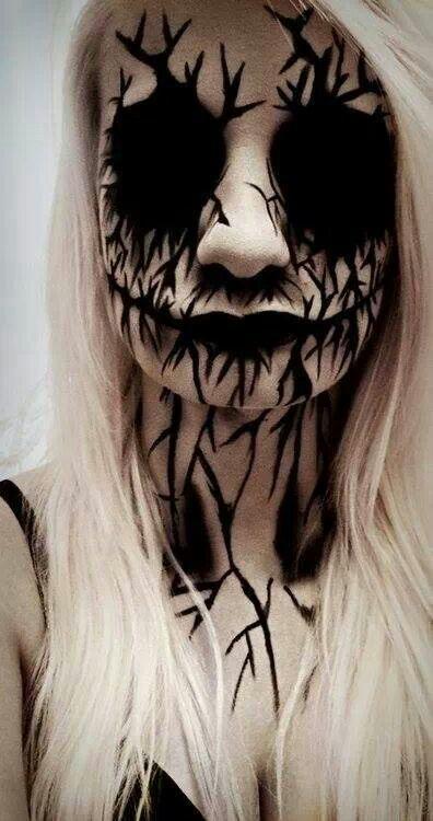 5 Scary Horrifying Halloween Makeup Ideas
