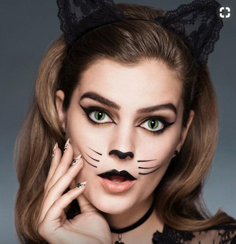 51 Halloween-Makeup