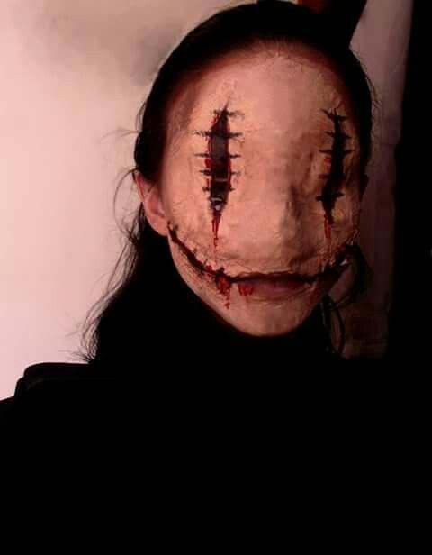 54 Scary Horrifying Halloween Makeup Ideas
