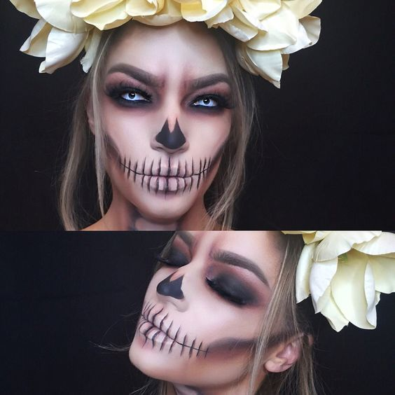 6 Easy Pretty Halloween Makeup Ideas For Women