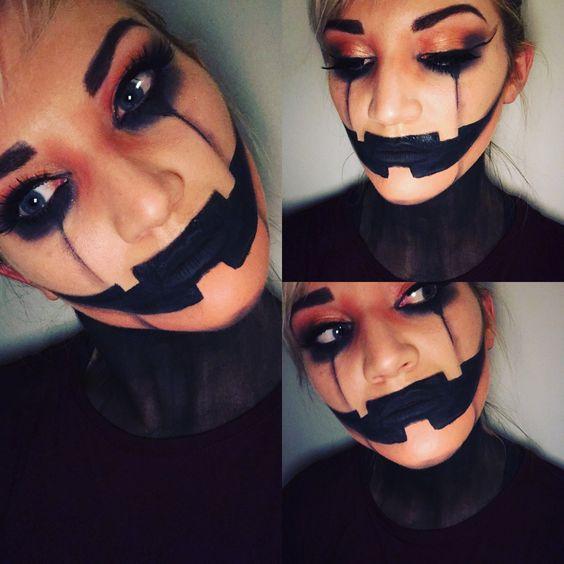 9 Scary Horrifying Halloween Makeup Ideas