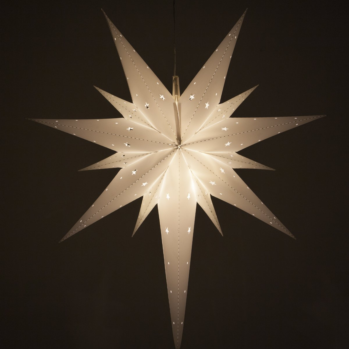 1 Fold-Flat Bethlehem Star Light