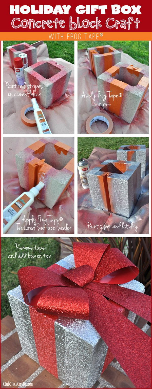 10 Amazing DIY Outdoor Christmas Decorating Ideas and Tutorials