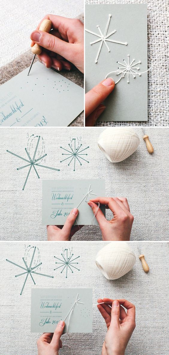 10 DIY Ideas and Tutorials to Create Your Very Own Christmas Card