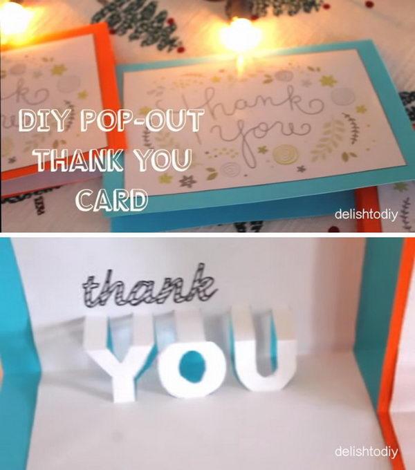 Easy Diy Thanksgiving Greeting Cards