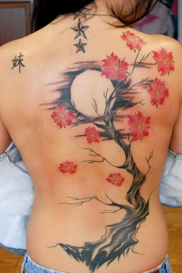 12 Cherry Blossom Tattoos