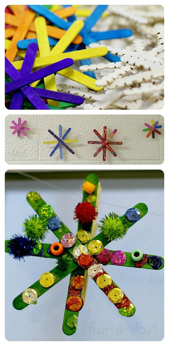 14 DIY Ideas and Tutorials to Recycle Popsicle Sticks for Christmas