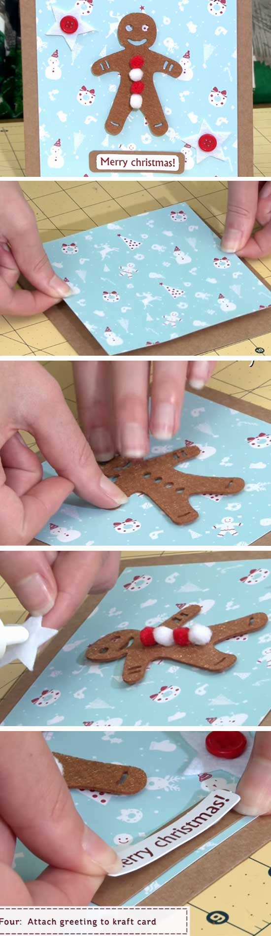 16 DIY Ideas and Tutorials to Create Your Very Own Christmas Card